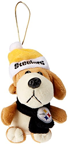 Boelter Brands NFL Plüsch Hund Ornament, braun, 7,6 cm -