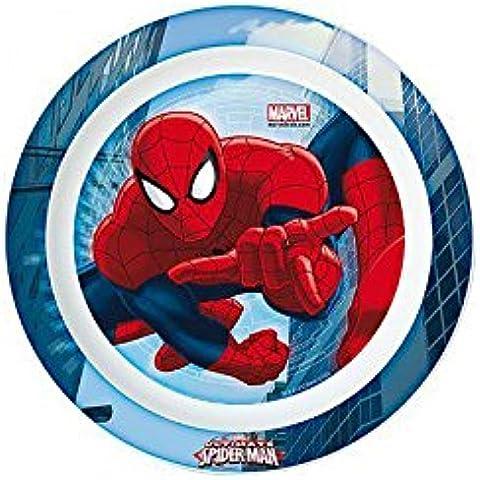 SPIDERMAN - Plato de plastico para microondas kids ultimate spiderman (12/48)
