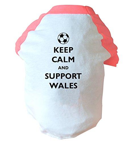 alm and Support Wales Zwei straffen Hund Weste Rosa oder Blau Gr. Medium, rose (Rosa Footies)