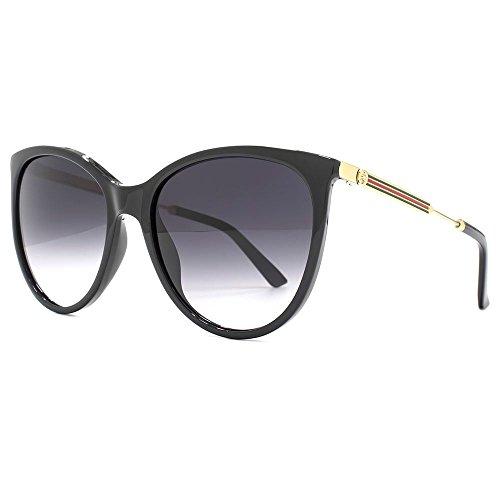 gucci-lunettes-de-soleil-cateye-classique-en-noir-brillant-gg-3866-s-6ub-57-shiny-black-gold-grey-57