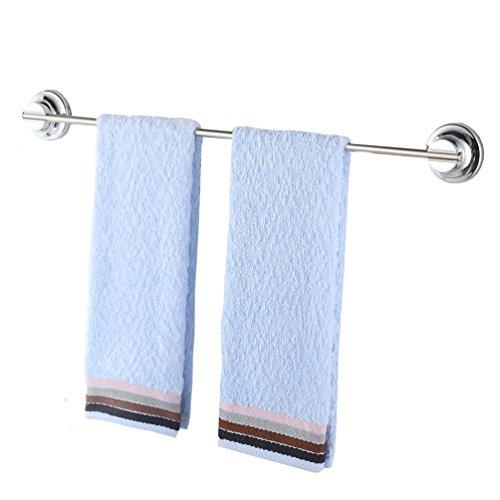 Barra toallero de acero inoxidable Teerfu, 40cm. Toallero para Baño con Soporte...