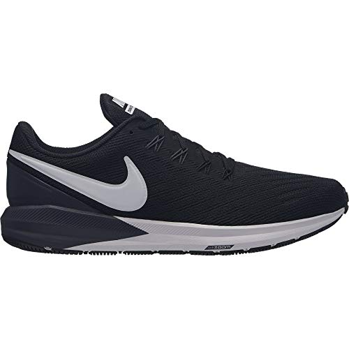 wholesale dealer 54f17 c69be Nike Herren Air Zoom Structure 22 Laufschuhe, Mehrfarbig  (Black White Gridiron 002