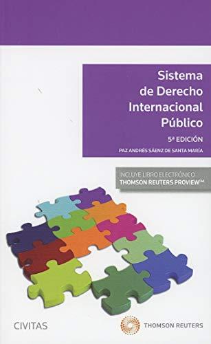 Sistema de derecho internacional público (+ E-book) (Sistemas de Derecho y Economía) por Paz Andrés Sáenz de Santa María