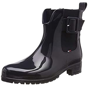 Tommy Hilfiger Damen Sporty Color Mix Rain Boot Gummistiefel