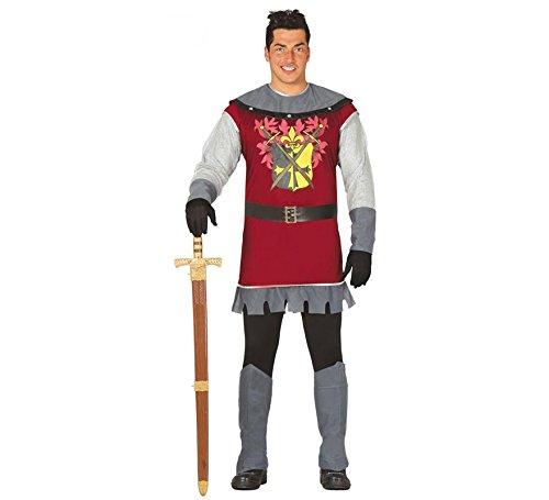 Guirca Costume principe soldato medievale carnevale uomo adulto 80831 T.U
