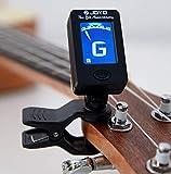 Genven Kreative Wohnaccessoires 1 Stück Instrument Zubehör Folk Gitarre Ukulele Multifunktions Digital Tuner Clip-on-Tuning-Tool