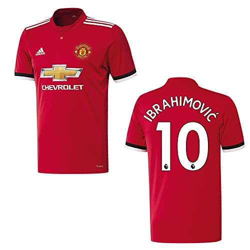 MANCHESTER UNITED Trikot Home Kinder 2018 - IBRAHIMOVIC 10, Größe:176 (Home Trikot United)