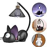 Treeshu LED schreibtischlampe, Schöne cat Lampe, Nachttisch-Leuchte faltbar für Schlafzimmer inkl, Cat Lampe Funktioniert einwandfrei Einfache bedienung Hell genug Wirklich schön, B