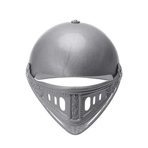 Amosfun 2 stücke Kunststoff Cosplay Helm römischen Krieger maskenhelm Ritter kostüm Helm für Party