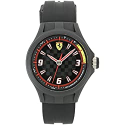 Scuderia Ferrari SF101 Pit Crew Watch for Older Children, Smaller Wrists 38mm Mid Size Dial