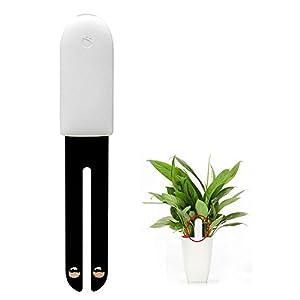 Monitor inteligente para plantas Xiaomi original; 4 en 1; sensor inalámbrico bluetooth detector de humedad de la tierra, fertilizante, temperatura ambiente, e intensidad de la luz; para jardines, granjas, patios, interiores y exteriores