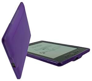 Amazon Kindle 4   U-Bop gSHELL Case   Smoke Purple
