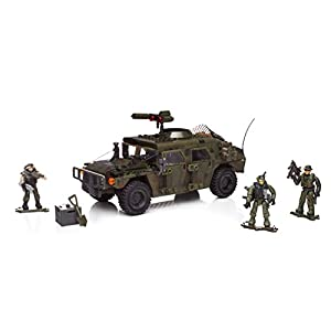 Mattel Mega Bloks DPB57 Call of Duty – Armored Vehicle Charge, BAU und Konstruktionsspielzeug