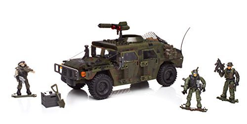 Mattel Mega Bloks DPB57 Call of Duty - Armored Vehicle Charge, BAU und Konstruktionsspielzeug