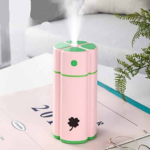 Haosir Ultraschall Raumluftbefeuchter 4 Liter Aroma DuftöL Vase Diffusor Einstellbare Nebelstufen Und Aromafach, FüR Auto Schlafzimmer Baby Kinderzimmer BüRo Bis Zu,Pink