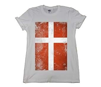 21 Century Clothing Denmark grunge Damen T-Shirt - Schwarz - XX-Large