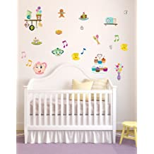 Cute Teapot Wall Stickers/Wall Decals Which Come To Life In Childrens Bedrooms, Kids Playrooms And Baby Nursery (Large)