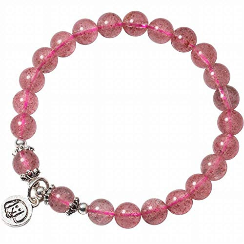 Sebas home bracciale donna moda occidentale s925 bracciale cristallo fragola argento donna sweet puppy strawberry crystal dog year hand ornament