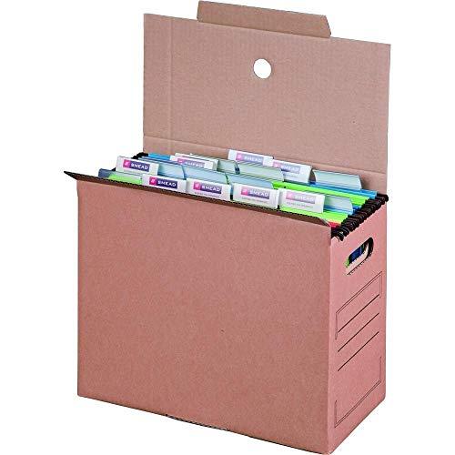 10 x Archiv-Transportbox für Hängemappen