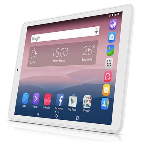 Alcatel Pixi 3 - Tablet de 10'' HD (WiFi/3G, Procesador QuadCore 1.3GHz, 1GB de RAM, 8 GB de memoria interna, Android 5), Blanco