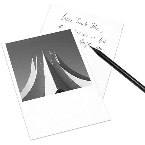 Juego de 5 tarjetas postales Berlín en el estilo de Polaroid - retrato DIN A6 - Arquitectura Alemania - Tema: Tempodrom