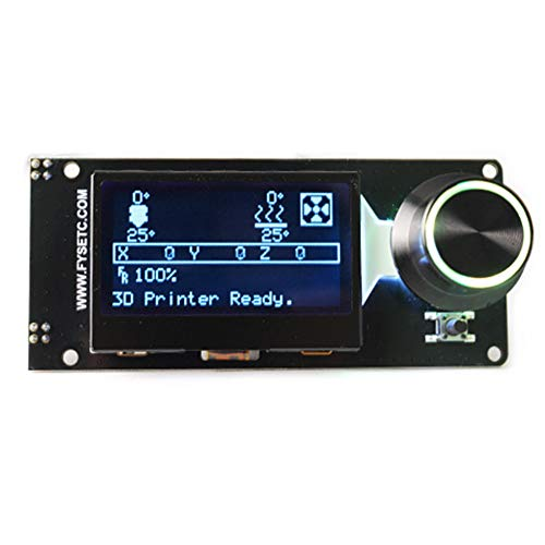 12864 - Controlador LCD ranura tarjeta SD kit impresora