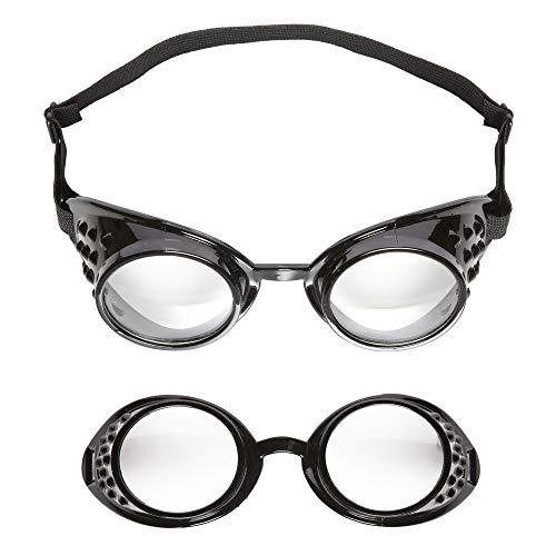 Widmann - Laborbrille (Fliegerbrille Halloween-kostüme Mit)