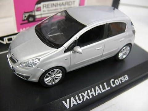 Norev - 380002 - Véhicule Miniature - Vauxhall Corsa 2006 - Argent - Echelle1/43e