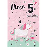 Special Niece 5th Birthday Card Age Five 8603