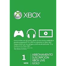 Xbox LIVE Gold 1-Month Membership Card (Xbox 360) [Importación Inglesa]