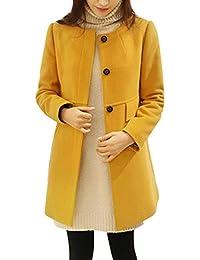 Ansenesna Abrigos Mujer Invierno Rebajas Elegantes Talla Grande Chaqueta MáS Gruesa Tipo Cachemira para Mujer Sobrepasa El Abrigo…