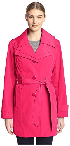 london-fog-womens-single-breasted-trench-berry-m