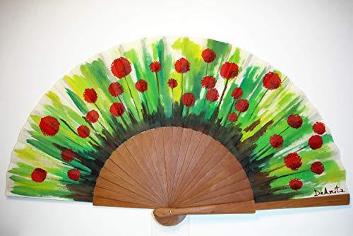 6d89ea4ae Abanico español pintado a mano