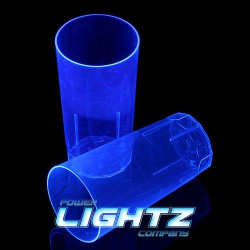 gdrink 250 ml in blau, Cocktail, Cola, Bier, Schwarzlicht, Gläser, Mehrweg, Plastik ()