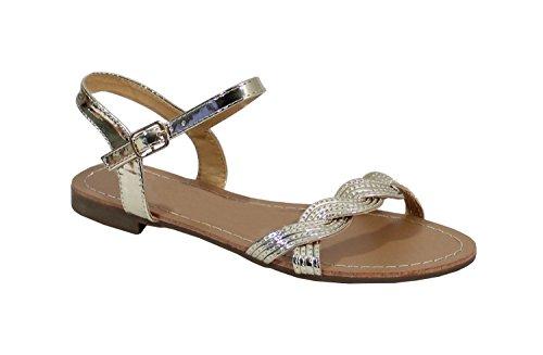 sandale-suedine-style-brillant-no-name-speciale-ete-gold-taille-38
