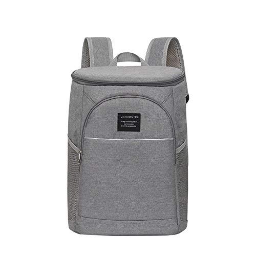 El almuerzo caja de almuerzo 18L refrigerador aislado bolsa grande enfriador mochila...