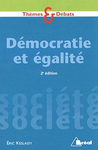 Démocratie et égalité