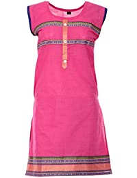 PRIYA Women's Silk Cotton Kurta