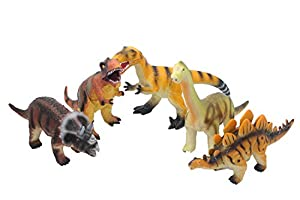 Kidz Corner Dinosaurios 5Modelos Surtidos Suaves, Multicolor, 438870