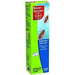 Bayer Garden Blattanex Ultra Gel - Cebo en gel contra cucarachas para interiores, formato de 20g