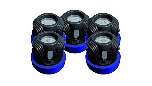 3V Batterie Pet Hund Sicheres Halsband Kompatible Ersatz rfa-188Disposable-High und Einzigartige Sicherheit mit für No-Bark Zaun Empfänger Training Control System Elektronik und Kamera (5Stück) -
