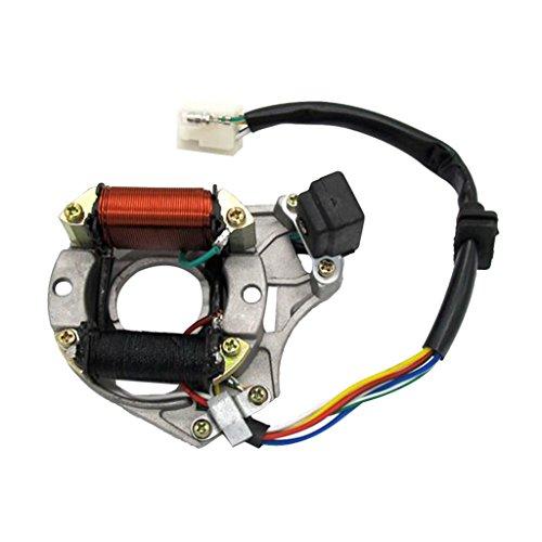 Preisvergleich Produktbild Homyl 1 Stück Magneto Statorspule Zündstator-Magnet Für Kazuma Quad ATV Kart Fahrrad Lf100 Dy100 H100 Lx100