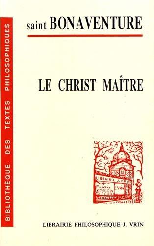 Le Christ maître