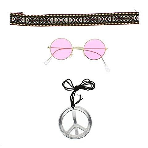Zac's Alter Ego� Fancy Dress Instant Hippie Kit