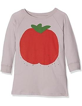 nadadelazos Mädchen Kleid Dress Tomato