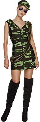 Kinder, die sexy Fancy Kleid Fever Combat Girl Wear Komplettes Outfit Kostüm Gr. M, multi