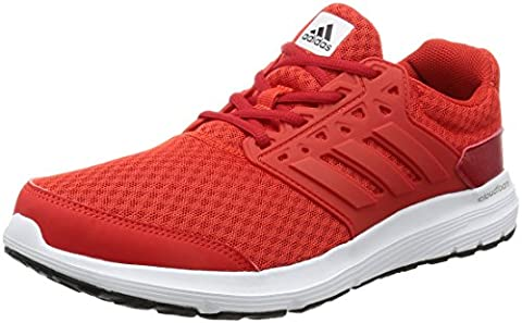 adidas Galaxy 3 M, Herren Sneaker, Rot (Core Red/Core Red/Scarlett), 42 EU