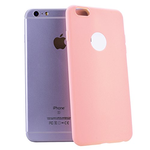HB-Int 3 in 1 Custodia per Apple iPhone 6 / 6S ( 4.7 pollici ) Nero Gomma TPU Gel Silicone Case Flessibile Morbido Shell Custodia Fashion Design Caso Ultra Sottile Leggera Copertura Anti Graffi Resist Rosa