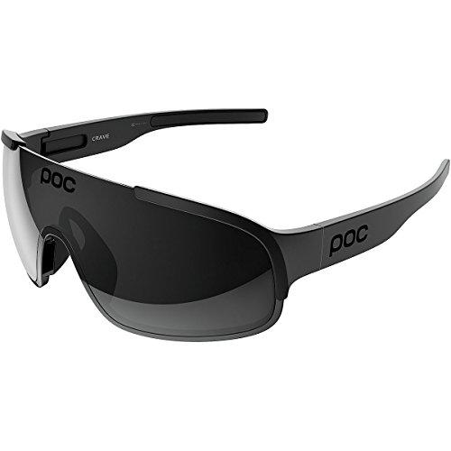 POC Crave Gafas, Unisex Adulto, Negro (Uranium Black Translucent, M