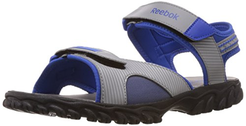 Reebok Men's Adventure Chrome Lp Vital Blue,Flat Grey and Black Mesh Sandals - 7 Uk  available at amazon for Rs.1199